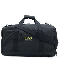 EA7 - Logo Holdall - Lyst