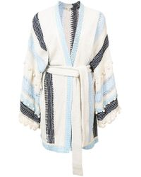 Jonathan Simkhai - Striped Cardigan - Lyst