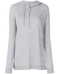 Barbara Bui - Hooded Jumper - Lyst
