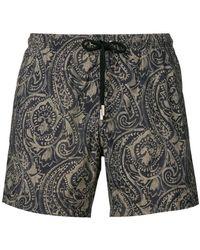 Paolo Pecora - Print Swim Shorts - Lyst