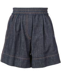 Brunello Cucinelli - Elasticated Shorts - Lyst