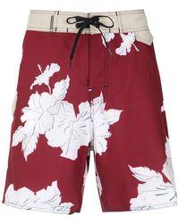 Osklen - Printed Swim Shorts - Lyst
