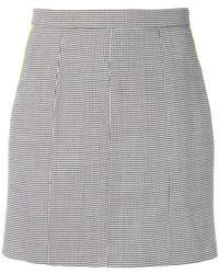 Natasha Zinko - Mini Pencil Skirt - Lyst