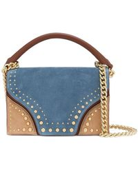 Diane von Furstenberg - Studded Shoulder Bag - Lyst