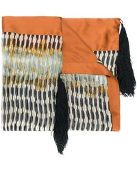 Forte Forte - Embroidered Scarf - Lyst