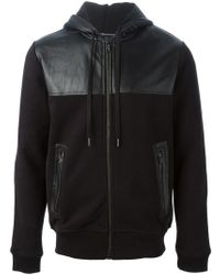 Marc By Marc Jacobs - Panelled Panel Hoodie - Lyst