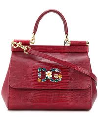 c16857a90c Lyst - Dolce   Gabbana Sicily Bags - Dolce   Gabbana Sicily Bags