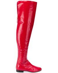Alberta Ferretti - Over The Knee Boot - Lyst