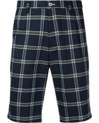 Guild Prime - Nautical Checked Shorts - Lyst