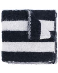 Golden Goose Deluxe Brand - Wide Striped Scarf - Lyst