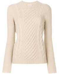 Drumohr - Cable Knit Jumper - Lyst