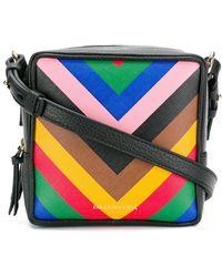 Sara Battaglia - Striped Box Bag - Lyst