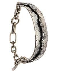Tobias Wistisen tie bracelet - Metallic Lw5aB