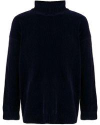 Our Legacy - Velvet Turtleneck Sweater - Lyst