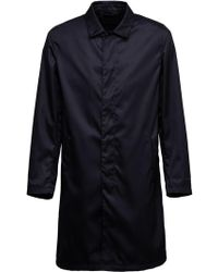 Prada - Gabardine Raincoat - Lyst
