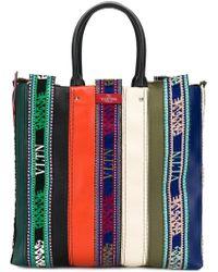 Valentino - Garavani Embroidered Tote Bag - Lyst