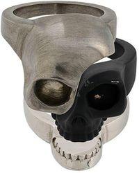 Alexander McQueen - Skull Charm Ring - Lyst
