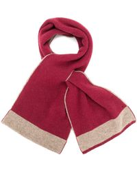 Dell'Oglio - Cashmere Loop-hole Scarf - Lyst