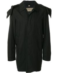 Burberry - Hooded Trench Coat - Lyst