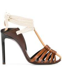 Saint Laurent - Majorelle 105 Convertible Sandals - Lyst