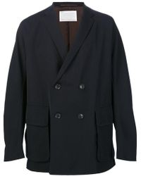 Kolor - Double Breasted Jacket - Lyst