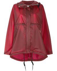 HUNTER - Hooded Raincoat - Lyst