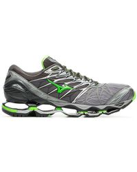 Mizuno - X Browns Grey And Green Wave Prophecy 7 Sneakers - Lyst