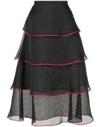 Novis - Tiered Ruffle Skirt - Lyst