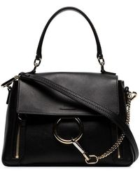 Chloé - Black Faye Day Shoulder Bag - Lyst