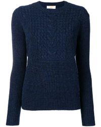 Le Mont St Michel - Cable Knit Jumper - Lyst
