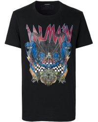 Balmain - Panthera T-shirt - Lyst