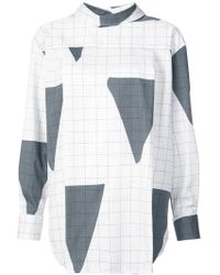 Vivienne Westwood Red Label - Triangle Grid Pattern Reversible Shirt - Lyst