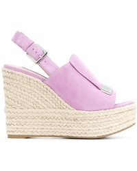 Sergio Rossi - Wedged Sandals - Lyst