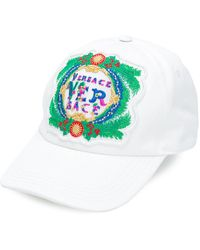Versace   Embroidered Baseball Cap   Lyst