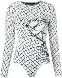 UMA | Raquel Davidowicz - Knitted Bodysuit - Lyst