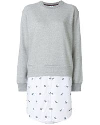 PS by Paul Smith - Combined Shirt Sweatshirt - Lyst