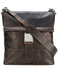 Orciani - Flat Foldover Top Bag - Lyst