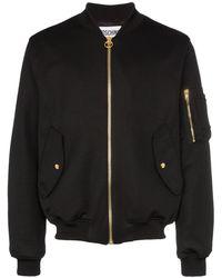 2879b52b857 Dolce & Gabbana Padded Milano Jacket in Blue for Men - Lyst