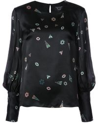 Creatures of the Wind - Geometric Print Blouse - Lyst