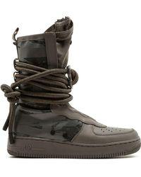 los angeles f2fef 3919b Nike - Air Force 1 Boots - Lyst