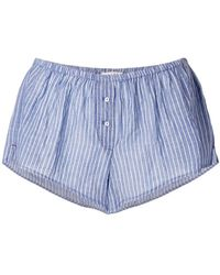 Xirena - Striped Short Shorts - Lyst