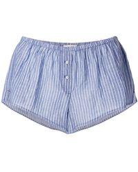 Xirena | Striped Short Shorts | Lyst