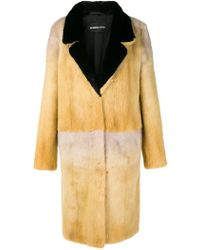 Numerootto Fur Long Coat