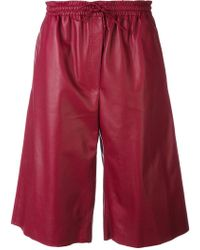 JOSEPH - Drawstring Knee-length Shorts - Lyst