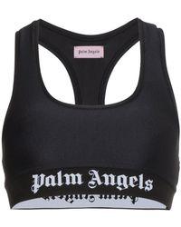 Palm Angels - Sports Logo Crop Top - Lyst