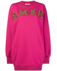 Amen - Logo Sweatdress - Lyst