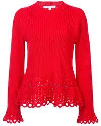 10 Crosby Derek Lam - Crochet Pullover - Lyst