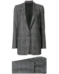 Tagliatore - Checked Two Piece Suit - Lyst