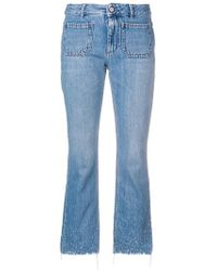 Dorothee Schumacher - Flared Cropped Jeans - Lyst