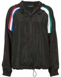 Cynthia Rowley - Strip Hooded Jacket - Lyst